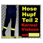 FeuerwehrPantalon HuPF 2 aus Kermel avec Reflex (Novotex)