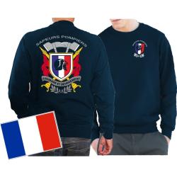 Sweat (navy/bleu marine), Sapeurs Pompiers - Courage et...