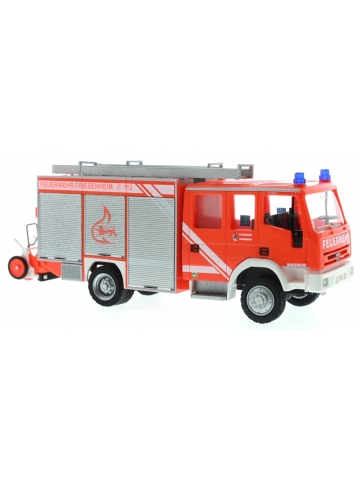 Modell 1:87 Iveco Eurofire LF 16/20 FF Friesenheim, tagesleuchtrot (auf FEUER1-Initiative)