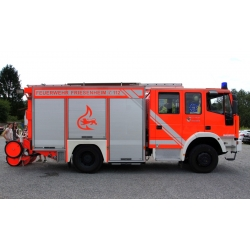 Model car 1:87 Iveco Eurofire LF 16/20 FF Friesenheim...