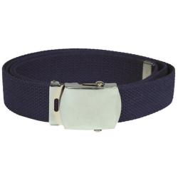 Textilgürtel azul marino, 100 % Baumwolle, B: 3 cm,...