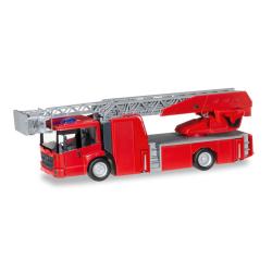 Bausatz 1:87 Minikit: Mercedes-Benz Econic Drehleiter, rot