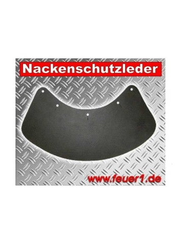 Schuberth-Feuerwehrhelm Nackenschutzleder F120 Pro