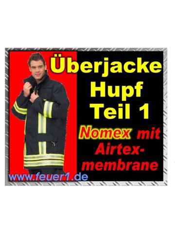 Feuerwehr-Überjacke HUPF 1, Nomex Gr. 54L