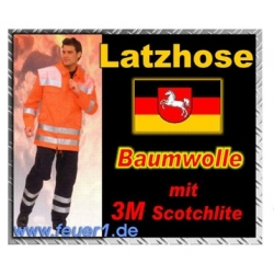 FW-Latzhose Niedersachsen, BW, Gr.106