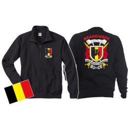 Sweatjacke (navy/bleu marine) Brandweer - Sapeurs...