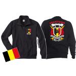 Sweat jacket (navy/bleu marine) Brandweer - Sapeurs Pompiers de Belgique, multicolore