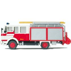 Modello di automobile 1:87 MB LF 16 Feuerwehr Frankfurt...