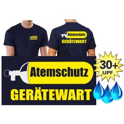 Funktions-T-Shirt navy mit 30+ UV-Schutz,...