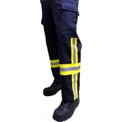 Trousers 100% cotton FR (fireresistant), with...