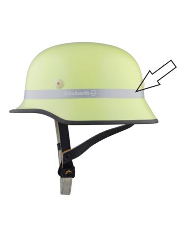DIN-FW-Helm Reflexfolie silber