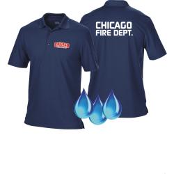 Funcional-Polo azul marino, Chicago Fire Dept.,...