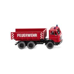 Modèle de voiture 1:87 MB Feuerwehr Schuttwagdans...
