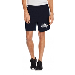 Performace Shorts navy FEUERWEHR with axes and place-name