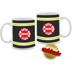 "Tasse: ""CHICAGO FIRE DEPARTMENT"",..."