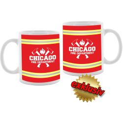 "Tasse: ""CHICAGO FIRE DEPARTMENT"",..."