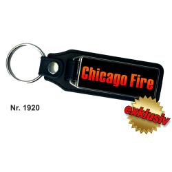 Schlüsselanhänger XL mit Leder CHICAGO FIRE