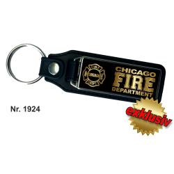 Schlüsselanhänger XL mit Leder CHICAGO FIRE...