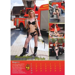 Kalender 2018 Feuerwehr-Frauen - das Original (18. Jahrgang)