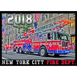 Kalender 2018 New York City Fire Dept. FDNY (6.Jahrgang)...