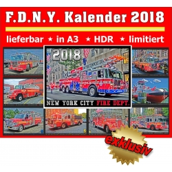 Kalender 2018 New York City Fire Dept. (6.Jahrgang) -...