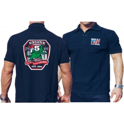 Polo navy, New York City Fire Dept. Godzilla 14th Street...