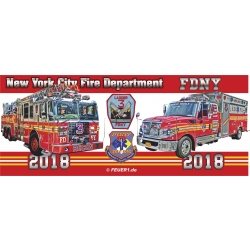 Tasse New York City Fire Department 2018 - limitiert (1...