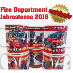 Tasse New York City Fire Department 2018 - limitiert (1...