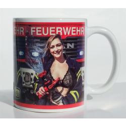 Tasse Feuerwehrfrau - limitiert