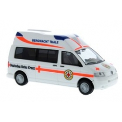 Modell 1:87 VW T5 Ambulanz Mobile Hornis Silver Bergwacht...