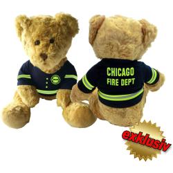 Plüschteddy CHICAGO FIRE DEPT. 40 cm hoch CE