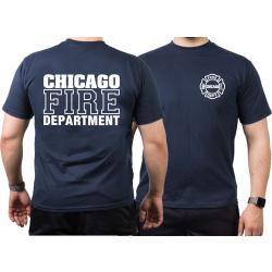 CHICAGO FIRE Dept. Standard, marin T-Shirt