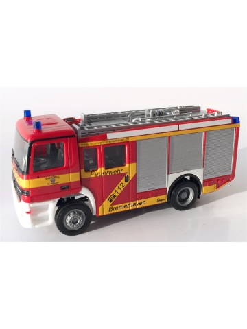 Modell 1:87 MB Actros S HLF 24/20-2 BF Bremerhaven (BRE) Exklusivmodell