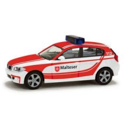 Model car 1:87 BMW 1er, Medizinische Transporte, MHD...