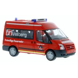Model car 1:87 Ford Transit 06, MTW, FF Vellberg (BaWü(