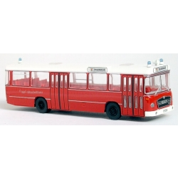 Auto modelo 1:87 MAN 750 Metrobus, ELW3, BF Pforzheim...