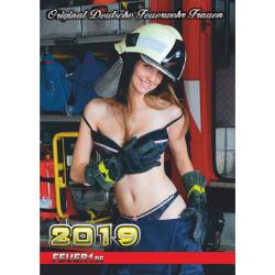 Kalender 2019 Feuerwehr-Frauen - das Original (19. Jahrgang)