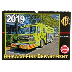 Kalender 2019 Chicago Fire Dept. (4.Jahrgang) - limitiert...