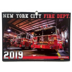 Kalender 2019 New York City Fire Dept. FDNY (7.Jahrgang)...