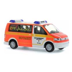 Model car 1:87 VW T5, NEF, Rettungsdienst Höxter (NRW)