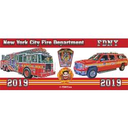 Tasse New York City Fire Department 2019 - limitiert