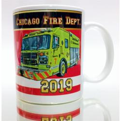 Tasse CHICAGO FIRE 2019 - limitiert