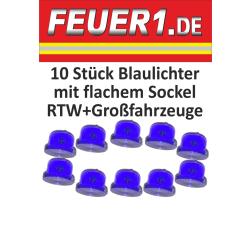 Attrezzature 1:87 Blaulichter con flachem Sockel RTW e...