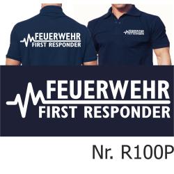 Polo navy, FEUERWEHR - FIRST RESPONDER