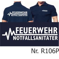 Polo navy, FEUERWEHR - NOTFALLSANITÄTER