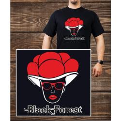 T-Shirt noir, Bollenhut - noir Forest