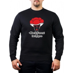 Sweatshirt black, Black Forest isch here
