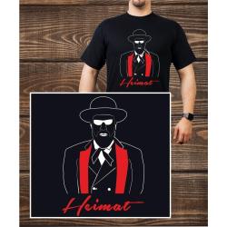 T-Shirt noir, Heimat (m)