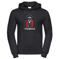 Hoodie black, Black Forest (M)