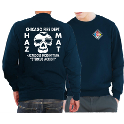 CHICAGO FIRE Dept. HAZ MAT Incident Team, navy Sweat